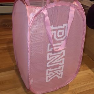 PINK Laundry Hamper